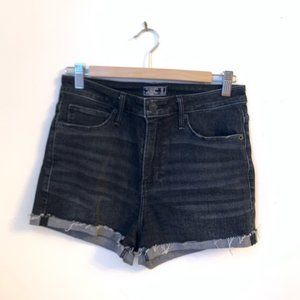 Black High Waisted Abercrombie & Fitch Shorts